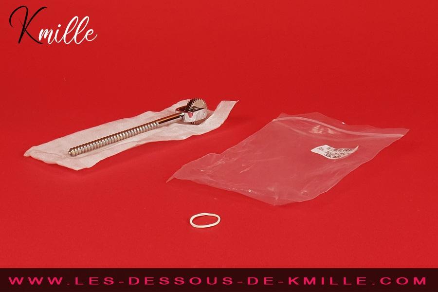 Les tests de Kmille - La roulette de Wartenberg 2 roues BH-PW-002, de Be Bondage.