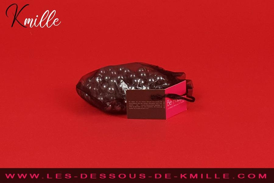 Kmille teste le collier de massage BH-0385, de Be Happy.