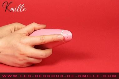 Kmille teste le stimulateur clitoridien Womanizer Premium Eco.