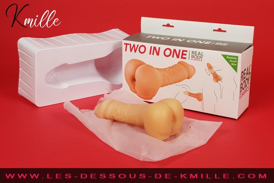 On a testé le masturbateur gaine d'extension pour pénis Two in One, de Real Body.
