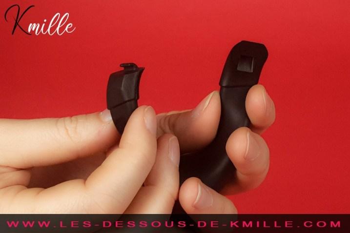 Test d'un anneau pour testicules vibrant connecté, de la marque We-Vibe.