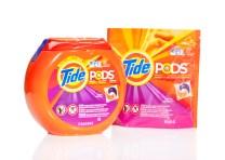 Point d'Ariel ou de Skip ici, Procter & Gamble a une autre marque : Tide. Là où de multiples marques (appartenant toutes à P&G) se partagent le marché en France, Tide semble jouir d'une certaine hégémonie.