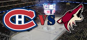 Canadiens de Montréal vs Arizona Coyotes