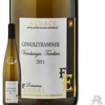 """Gewurztraminer, surnommé """"vin de vache"""" depuis que Nono n'a pu retenir un """"Oh la vache !"""" la première fois qu'il y a goûté."""