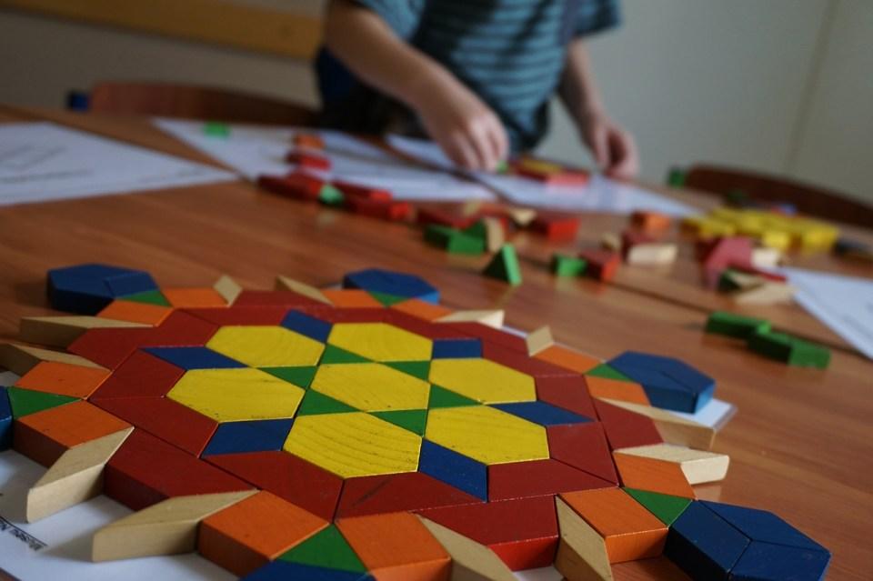 Tangram et géométrie