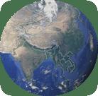 Asie-globe