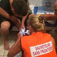Sauveteurs sans Frontières à l'œuvre à Saint Martin