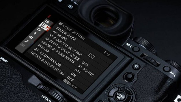 X-T2 Firmware v2 et X-Pro2 Firmware v3 : Liste des modifications