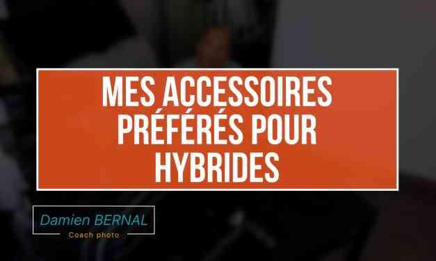 Quels accessoires pour appareil photo hybride (Courroie, trepied, housse…)