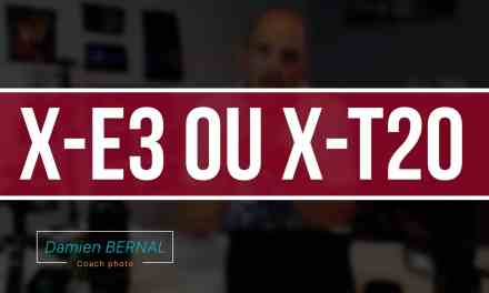 Comparatif Fujifilm X-E3 vs X-T20