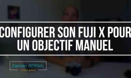 Mettre un objectif manuel sur un Fujifilm X (X-T2, X-T20, X-T10, etc.)