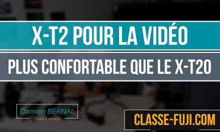 Comparatif X-T2 et X-T20 pour filmer des vidéos