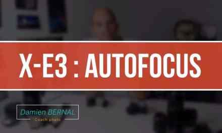 Fujifilm X-E3 : suivi AutoFocus (AF) – Le bilan