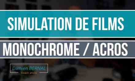 Simulation de films Noir & Blanc