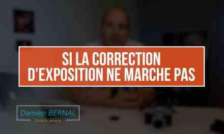 Problème de correction d'exposition : Marche pas en manuel :(