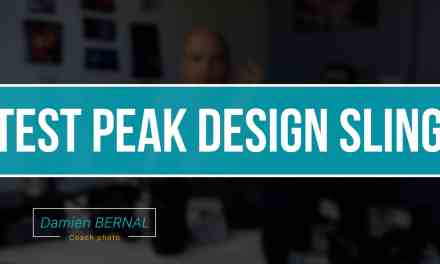 Test sac Peak Design Sling pour hybride/reflex