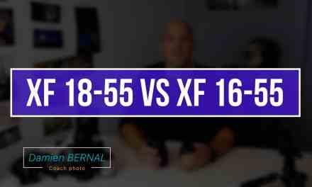 Comparatif XF 18-55 2.8-4 vs XF 16-55 2.8