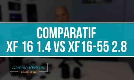 Comparatif Fujifilm XF16 1.4 et XF16-55 2.8 !!! Quelle différence ?