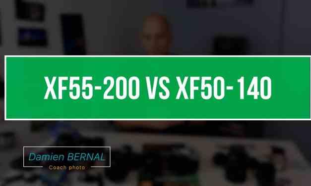 Comparatif Fujifilm XF55-200 vs XF50-140 F2.8