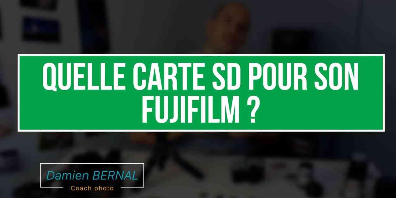 Quelle Carte SD Pour Son Fujifilm X