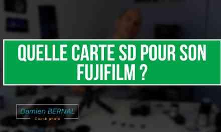 Quelle carte SD pour son Fujifilm X ?