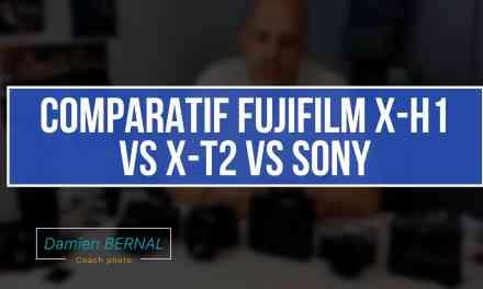 Comparatif Fujifilm X-H1 vs X-T2 vs Sony A7 III