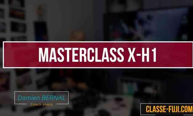 Manuel utilisateur et guide d'utilisation du Fujifilm X-H1