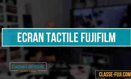 Comment fonctionne l'écran tactile des Fujifilm X-T20 / X-E3 et X-H1 ?