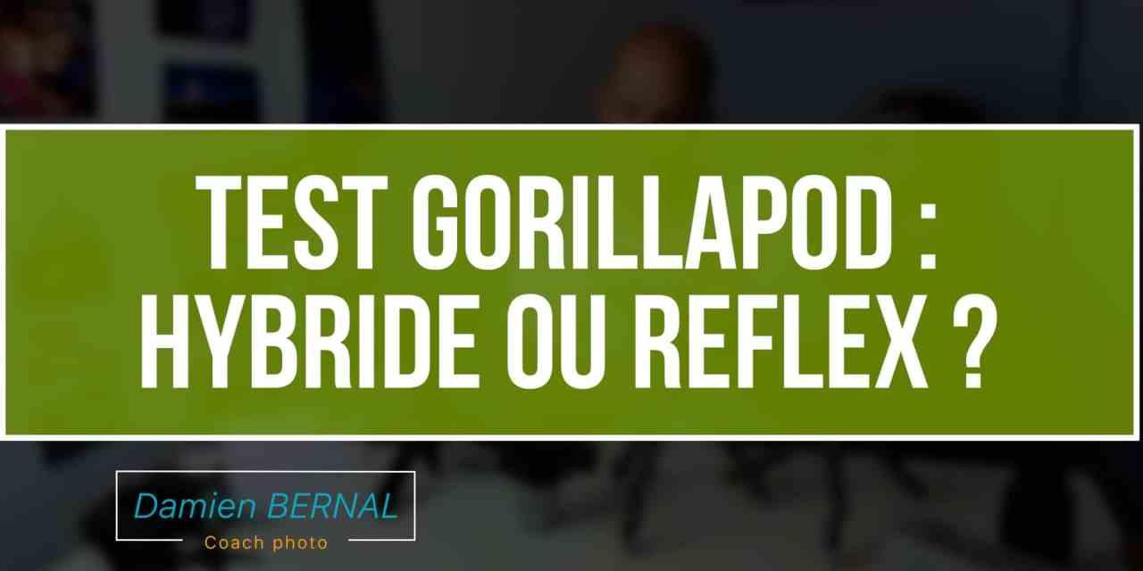 Test trépieds Gorillapod : Taille Hybride 1K  ou Reflex 3K ?