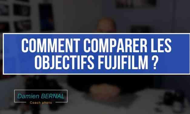 Pas de DXOMARK, Comment comparer facilement 2 objectifs Fujifilm ?