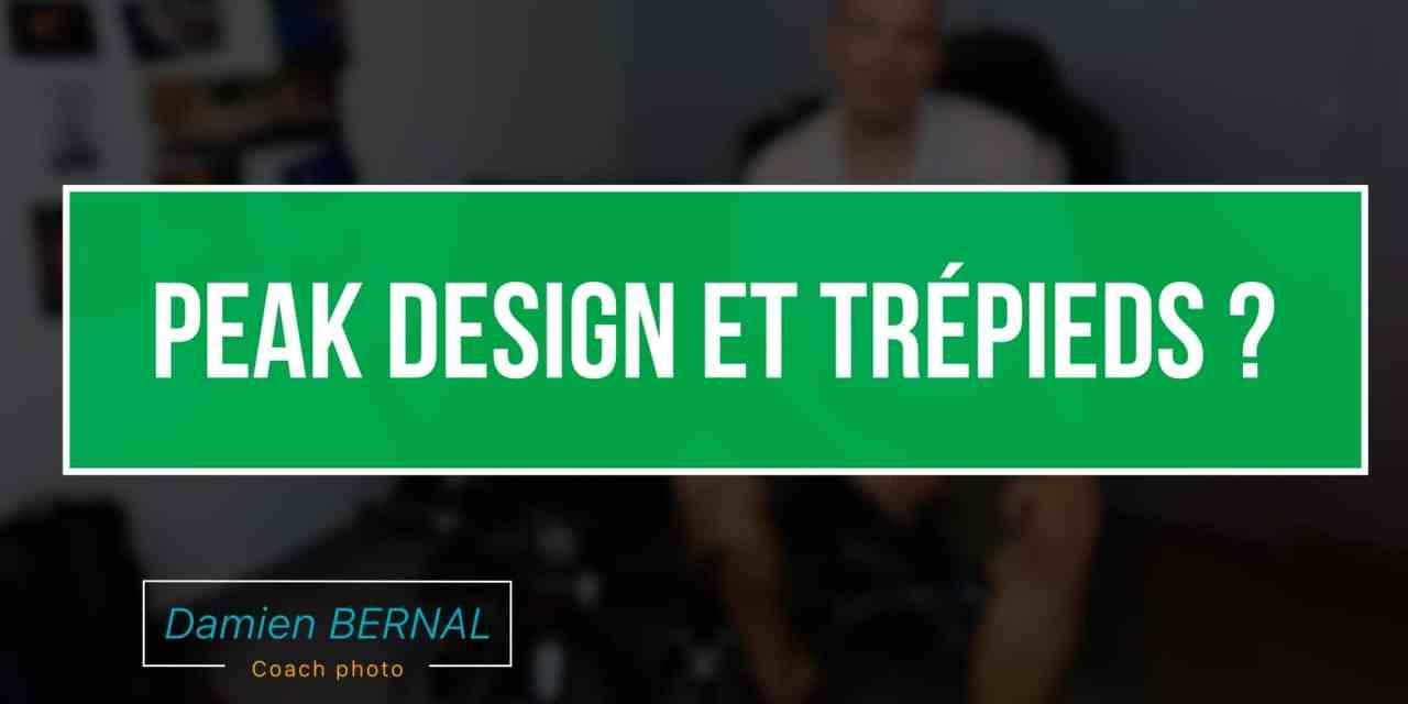 Peak design + Trépieds ?