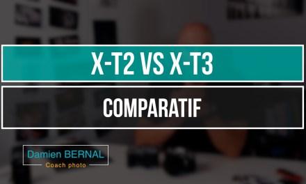 Comparatif Fujifilm X-T2 vs Fuji X-T3 : Les différences