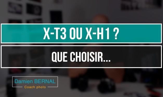 Comparatif X-T3 vs X-H1 : Lequel est le haut de gamme Fuji ?