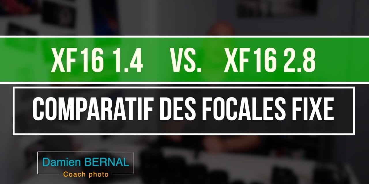 Comparatif XF16 f1.4 vs XF16 f2.8 : Quelles différences?