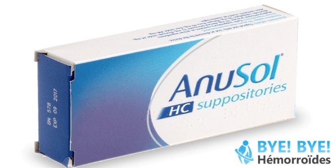 Suppositoire anti-hémorroïdes : Anusol