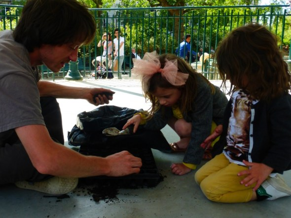 atelier jardinage square paris participatif