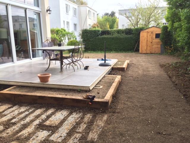 les jardiniers à vélo paris ile de france aménagement entretien jardin pleine terre robinson pavage dallage engazonnement