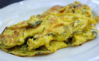 omelette aux asperges