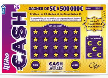 jeux cash FDJ