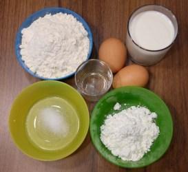 ingrédients pâte à crêpes