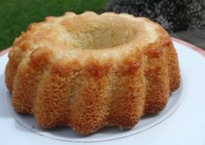 gâteau lorrain mal démoulé
