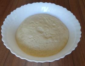 pâte après la première levée