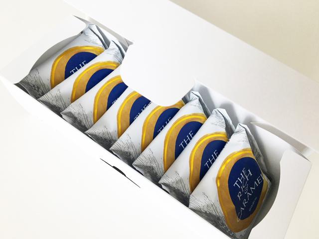 黒船,箱に8個入ったザリッチアンドキャラメル,キャラメルクリームのお菓子,THE RICH AND CARAMEL,QUOLOFUNE,,