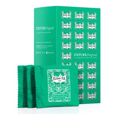 クスミティー,ウェルネス,KUSMI TEA,EXPURE ORIGINAL TEA BAGS ASSORTMENT,