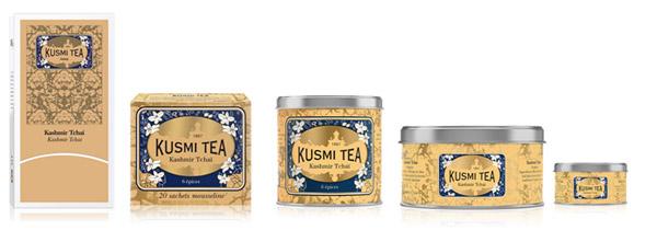 クスミティー,5種類のカシミールチャイ,KUSMI TEA,KASHMIR TCHAÏ,