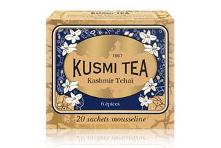 クスミティー,カシミールチャイ,ティーバッグ 2.2g x 20個入 (個別包装なし),KUSMI TEA,KASHMIR TCHAÏ,