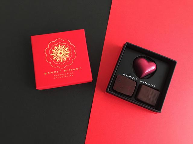 ブノワ・ニアン,オートクチュールショコラ,箱,haute couture chocolat,バレンタイン,2019