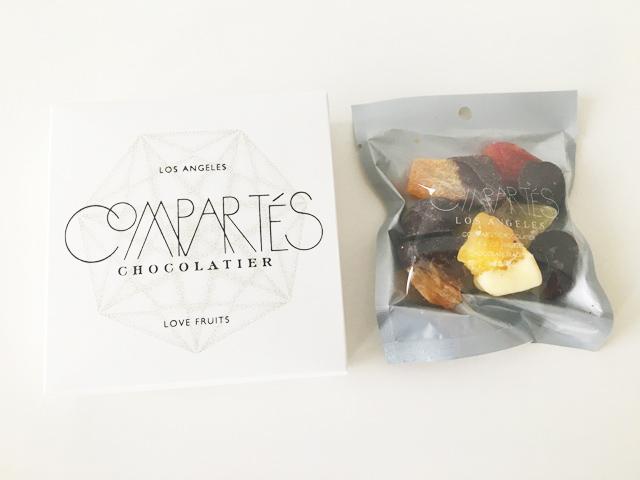 コンパーテス,ラブフルーツミックスSの白いBOXと中身,COMPARTES