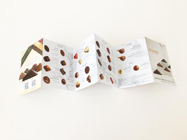 ノイハウス,ヒストリーについていたリーフレット, ボンボンショコラ,バレンタイン,2021,チョコレート, NEUHAUS,History,Valentine,chocolate,Bonbon de Chocolat,