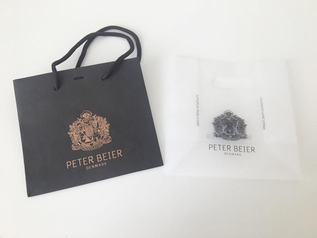 ピーターバイヤーのショッピングバッグと紙袋,ルビーコレクション5粒入,バレンタイン,チョコレート, PETER BEIER,RUBY COLLECTION,Valentine,chocolate,